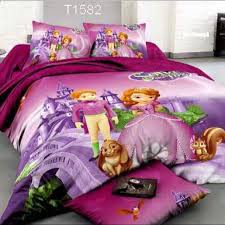 lucky cat my little pony frozen sofia customise bedding fitted bedsheet set women s fashion on carou