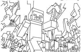 Free Minecraft Coloring Pages Awesome Mine Craft Coloring Pages