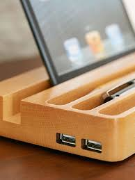charging station organizer get rid of messy clutter and entangled cords