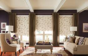Window Treatment   & Graber Roller Shades with Soft Drapery Adamdwight.com