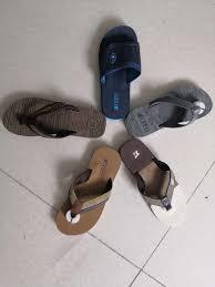 Sandal Design Hot Item Simple Design Embossed Skid Resistance Sole Flip Flop Men Slipper Sandals