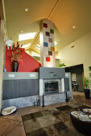 modern fireplace portland oregon