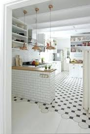 white floor kitchen tiles black and white tiles in the kitchen coming into whitewashed wooden floors