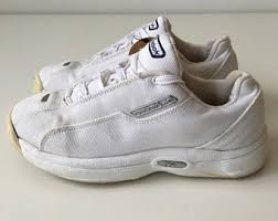 reebok 90s shoes. vintage size 6us reebok 90s low top sneakers white canvas running shoes platform casual sporty