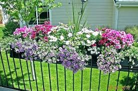deck railing planter box flower boxes for e17