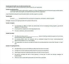Recruiting Plan Template Recruiting Plan Template Doc Hiring Policy Recruitment