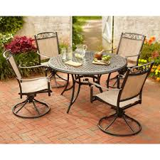will the classic accessories veranda patio table and chair set cover size small fit your hampton bay santa maria 5 piece patio dining set