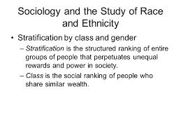 stratification based on ethnicity and gender com