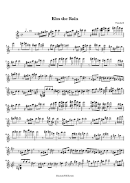 * where transpose of kiss the rain sheet music available (not all our notes can be transposed) & prior to print. Kiss The Rain Sheet Music Kiss The Rain Score Hamienet Com