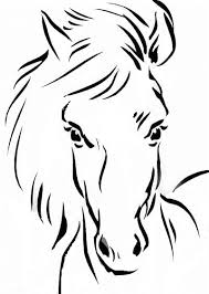 Small Picture Horse Head Coloring Page Apigramcom