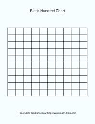 100 Grid Chart Blank Bedowntowndaytona Com
