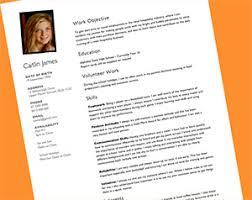 Teenage Resume Template 2 High School Student Academic