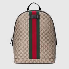 gucci backpack. gg supreme backpack with web gucci n