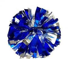 Blue Cheerleading Pom Poms | eBay
