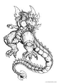 Godzilla coloring pages to download and print for free perfect godzilla coloring pages 75 in coloring site with godzilla godzilla coloring page Monster Godzilla Coloring Pages Coloring4free Coloring4free Com