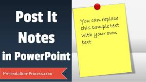 Watch Post It Notes Post It Notes Tutorial In Powerpoint Youtube