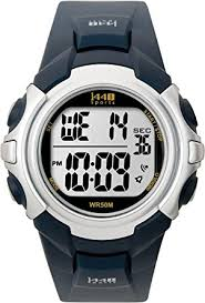 amazon com timex men s t5j571 1440 sport watch blue band timex men s t5j571 1440 sport watch blue band
