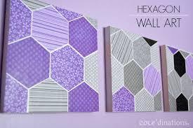 hexagonal diy paper wall art darice 1