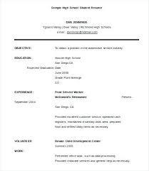 Curriculum Vitae Example Graduate Student. Sample Resume For ...