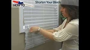 how to shorten wood and faux wood window blinds decor how to