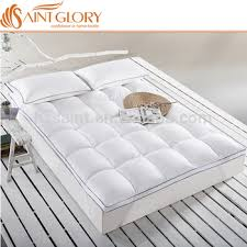 thick mattress topper. Thick Firm Feather Mattress Topper Duck Down Filled Saint Glory Produced Pad Packed In Vacuum