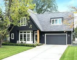 dark garage doors french beret exterior paint color black jack garage door and dark trim white dark garage doors