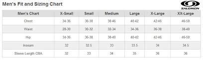 Salomon Ski Boot Size Chart Mm Becky Chain Reaction