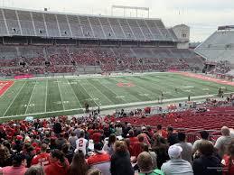 Ohio Stadium Seating Chart With Rows Ohio Stadium Section 17a Rateyourseats Com