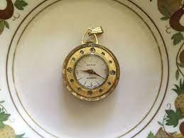 vintage omnia pendant watch watch