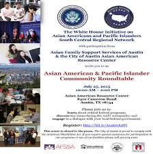 the white house initiative on asian americans and pacific islanders whiaapi community roundtable flyer