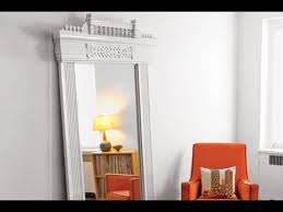 how to make a new mirror with old door trim this old house