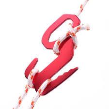 <b>5Pcs</b>/<b>lot</b> Awning Tent Guyline Adjuster Figure Shape 9 Rope ...