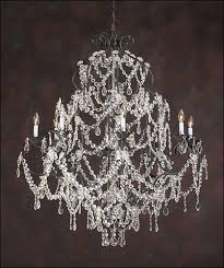 wrought iron chandelier large crystal chandelier