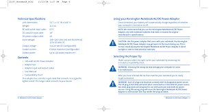Pdf Manual For Kensington Other 33197 Adapters