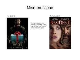 analysis of existing film trailers mise en scene mise en scene