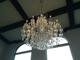 cleaning glass chandeliers to clean a chandelier beautiful crystal skylight service how