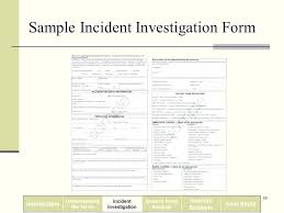 First Aid Incident Report Template Workplace Incident Report Form