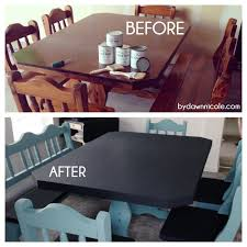 Paint A Kitchen Table 50 Craigslist Kitchen Table Makeover