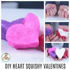 looking for non candy valentines the diy heart valentine squishy is the perfect valentine