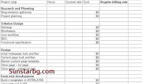 Invoice Schedule Template Invoice Web App Mobile Application Development Project Plan Template F