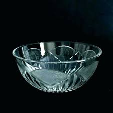 bowls large round glass bowl extra shallow clear cle