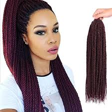 Hairstyles For Braids 61 Awesome Senegalese Twist Hair Crochet Braids Hairstyles 24S Pretwist Box