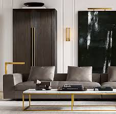 Inspired by a 1960s french original, it is a striking surface for display. Nicholas Marble Large Coffee Table
