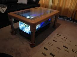 Led Coffee Table Diy Aquarium Coffee Table 7 Steps With Pictures