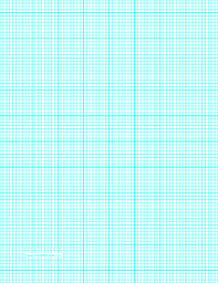 Printable Graph Paper With Eight Lines Per Inch And Heavy
