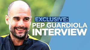 PEP GUARDIOLA EXCLUSIVE INTERVIEW - YouTube