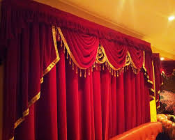 an close up of what your next stage curtain might look like