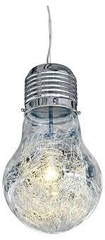 bulb shaped chandelier