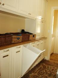 exciting custom linen cabinet with hamper traditional laundry room oom hamper re defined by this