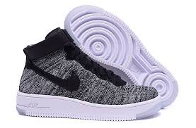 nike air force 1 flyknit and leather high top trainers shoes nike clearance nike air colorful and fashion forward